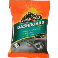 Armor All Dashboard Wipes - Matt Finish - Pack of 15